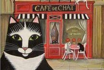 Cat art / by Anna Swierkosz