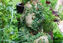 Esculturas de jardim