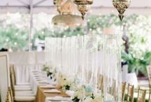 .. Head Table + Sweetheart Tables .. / Head Tables and sweetheart tables.  What to do?  How to draw the focal.   / by Botanica Events