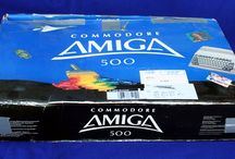 Commodore Amiga  / Who can forget their Amiga? The Amiga computers were made by Commodore and the first model was launched in 1985 as a high-end home computer and it became popular for its graphical, audio and multi-tasking abilities.  The best selling model, the Amiga 500, was introduced in 1987 and became the leading home computer of the late 1980s and early 1990s...