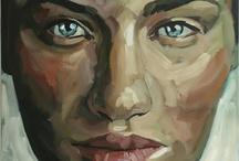 contrast portrait