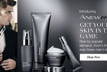 Avon Men's Skin Care Products / New Avon Anew Skin Care products for Men. Find men's skin care tips and products for men's daily skin care regimen. Anew Men comes in daily moisturizer with SPF, eye treatment, and gel cleanser.