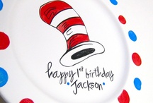 Dr. Seuss Twin Party / Andrew & Braeden's 1st Birthday  / by Amanda @RusticRemnants