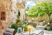 Patio's and outdoor spaces