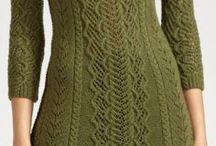 Haljine od vune/strikane haljine