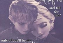 Jelsa!!! / Jack Frost x Queen Elsa of Aredelle! / by Taylor Gay