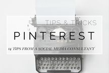 Pinterest tips and tricks / I was looking for tips and tricks to start with Pinterest en to grow my Pinterest account, and found all these usefull articles!