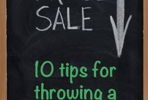 Selling stuff
