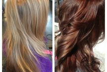 Before & After / Colors and cuts that show the original style and the finished product.