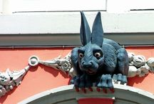 Grotesques and Gargoyles / by Jutta Bryant