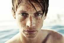 Uitdemaat ★ Freckles / My mother used to tell me that every freckle is worth a kiss. / by Dani van Oeffelen