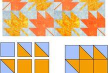 "9"" blocks / by Karen Boden"