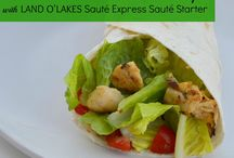 Land O'Lakes Sauté Express® Sauté Starter  / Looking for easy dinner ideas? Check out some of the delicious recipes our influencers have cooked up! / by SoFabConnect