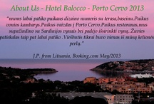 Guestbook Hotel Balocco 2013 / a set of comments made from our travellers in 2013 on the most known travel websites, extracted from us and posted here. Thanks to all our guests to make us proud of our work and to make us improve constantly.