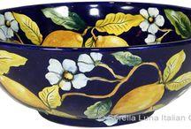 bacias ceramicas