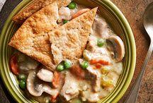Crock pot / Food from the crock pot