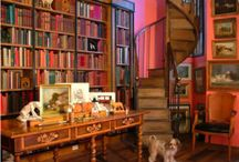 I dream of a loft library... / I would just love to have all my books in one place... one day I will! / by Lou Morgan