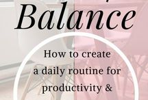 Personal Development | Work | Life | Balance | Productivity