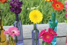 Vintage Containers / Lake Chelan Florist | J9Bing Floral Design