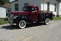 Old antique restored cars & trucks