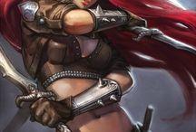 Női harcosok