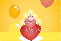 Tarjetas de cumpleaños !