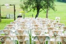 Outdoor Party Seating Decor