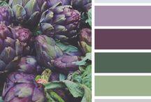 Kleurenpaletten / Mooie kleuren combi's