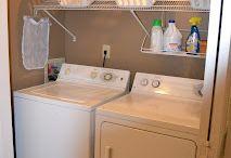 laundry room fixes / by Sharon Witzell