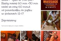 happy hours / Jesienne Happy  Hours ! gdzie tylko w Thai Bali ! Kazdy masaż 60 min +30 min nadal za cenę 60 minut w godzinach 12-17 od poniedziałku do piątku