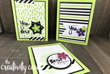 2017-18 Stampin Up Catalog Projects
