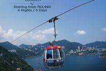 Hong Kong Delights / Explore Hong Kong's shopping streets, colorful festivals and stunning sightseeing. Book Hong Kong group and individual holiday travel packages with TUI India.  http://bit.ly/HongKongHoliday2015