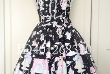 lolita dresses I own
