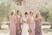 bridemaids en overige