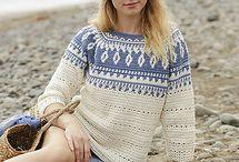 Crochet cardigans, tops, sweaters