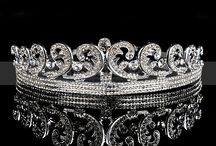 Shinning Tiara / Fined wedding tiaras collections including crystal and rhinestone style, shop thousands of bridal accessories at TopWedding.com / by Topwedding