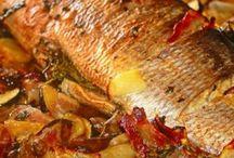pratos de peixes delícias
