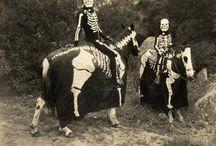 Mabon + Samhain / Seasonal, scary, silly, spiritual things for celebrating the Fall Equinox + All Hallows Eve