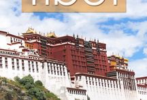 "Traveling Tibet / Tibet is dubbed the ""Water Tower"" of Asia since some of the most important rivers across the continent spring in the country's mountainous terrain. Start planning your travels in Tibet with these pins!"