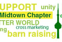 Toronto Midtown Chapter - HCC / Non profit organization: Bringing together holistic minded people, businesses and professionals...promoting growth, growing businesses and increasing awareness for the better of the whole community. Healthy lifestyle, services and products...join a meeting to learn more.  http://www.holisticchamberofcommerce.com/on-toronto-midtown