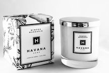 Mimosa Mandarin by Havana Home / With a fresh mandarin top note and a heart of mimosa blossoms this beautiful candle will invigorate the senses and calm the soul.