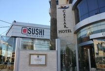 Sushi Restaurant / Our Sushi Restaurant is the first and only one in Palestine, offers you a variety of delightful rolls, bringing you a little taste from Japan.
