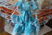 poupées creation / vetements de poupées réaliser avec des vetements d'occasion