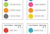 Distress Color Combos