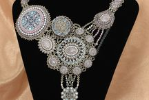 Beadwoven Necklaces