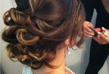 Hair for the ball. So excited!!!