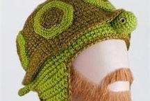 Knitting animal hats