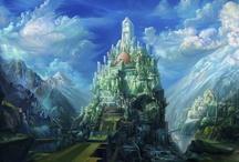 Fantasy city / by Vincent Bezençon