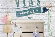 VÍAS MARKET 2016. 6 de marzo. ESPACIO VÍAS / Vías Market, el mercado de creadores y creadoras leonesas (diseño, artesanía, arte, …), abrió sus puertas por tercer año consecutivo. 6 de marzo