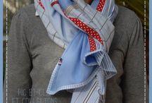 foulard patchwork